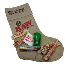 RAW Stocking X SMO-KING Rolling Papers and Grinder Christmas Gift Set