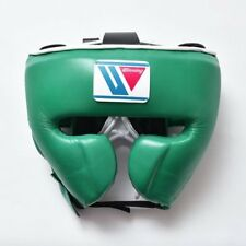 WINNING Boxing Head Gear FG-2900 Training GREEN Large Size L Made in Japan NEW