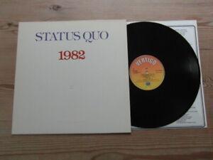 STATUS QUO-1982-SUPERB AUDIO-VERTIGO-Nr MINT VINYL LP ALBUM 1982