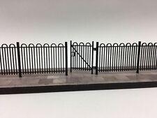 LASER CUT HAIRPIN SCHOOL / PARK RAILINGS OO SCALE 1:76 MODEL RAILWAY - LX102-OO