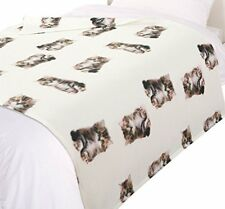 Couvertures traditionnels blancs pour le lit, pour chambre