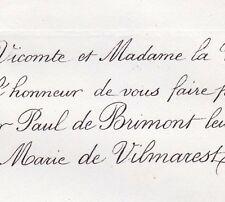 Paul Henri Ruinart De Brimont 1861 Marie De Vilmarest