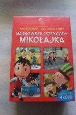 Najnowsze przygody Mikołajka. Części 1-4 (DVD)  Polskie wydanie