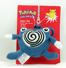 POKEMON PLUSH ZIPPER PULL POLIWHIRL NEW