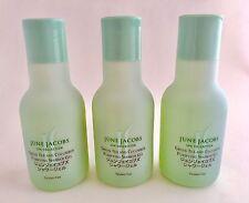 3x4 floz JUNE JACOBS Spa Collection Green Tea Cucumber Purifying Shower Gel Gift