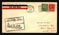 Canada 1929 FFC Ft McMurray to Ft Simpson - Z17438