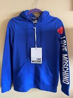 Womens Love Moschino Zip Up Hoodie Sz 4