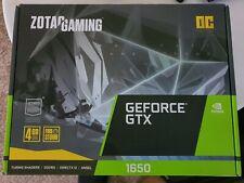 Zotac GeForce GTX 1650 OC 4GB GDDR5 Graphics Card - Brand New
