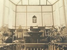 1904-1918 RPPC Church Tabernacle Hymns 166 737 136 AZO Post Card Unused