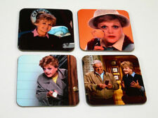 Murder, She Wrote Angela Lansbury COASTER Set