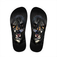 Men's 3D Animal Print Flip Flops Holiday Beach Sandals Jandals Thongs Slippers