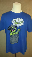 SESAME Street 'Garbage Monster' Man's T-Shirt Size: XL in VERY GOOD Condition