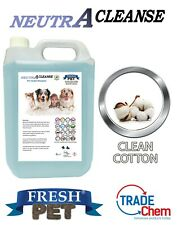 Carpet Cleaning Shampoo Solution Pet odour eliminator COTTON Low Foam 5L NEUTRA