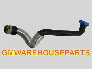 2000-2004 SATURN L SERIES 2.2 OUTLET HEATER HOSE W/ QUICK CONNECT NEW GM 9128706