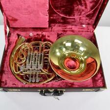 Yamaha Model YHR-891D Custom Triple Horn SN 001295 UNLACQUERED! SCREW BELL!