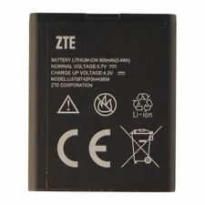 NEW OEM ZTE LI3709T42P3H443654  BATTERY FOR ZTE PHONES 900mAh