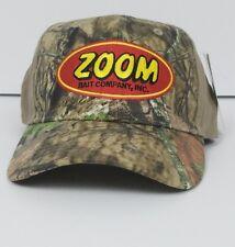 NWT Men's Zoom Bait Company Mossy Oak Camo Adjustable Fishing Cap  Hat New