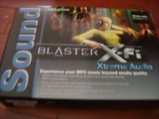 Creative SB0790 Sound Blaster X-Fi Xtreme Audio PCI Sound Card
