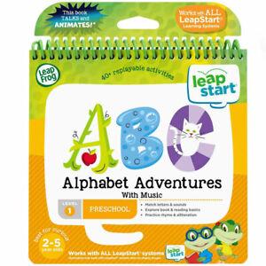 LeapFrog LeapStart 3D Alphabet Adventures Activity Book