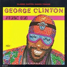 (CD) George Clinton - Atomic Dog [1990 Capitol] 4-Track CD Single