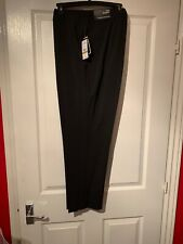 Nine West Skinny Leg Stretch Trousers US Size 14 In Black