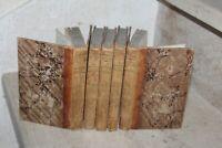 histoire de gil blas de santillane en 5 tomes reliés ( 5 frontispices)