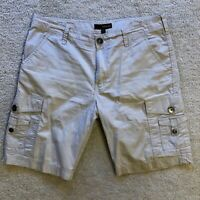 Vintage GUESS Los Angeles Cargo Tan/Khaki Shorts Men's Size: 36