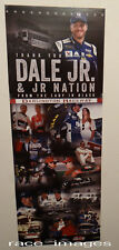 2017-THANK YOU DALE EARNHARDT JR FROM THE LADY IN BLACK DARLINGTON NASCAR POSTER