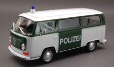 VW T2 Bus 1972 - Polizei  1/24 Classic Metal Model Car