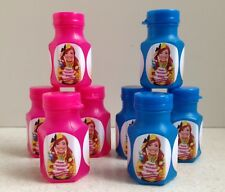 8 x Personalised The Wiggles Emma BIRTHDAY PARTY MINI BUBBLE FAVOURS