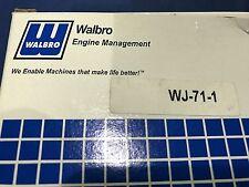 OEM Husqvarna 394XP Carburetor Walbro WJ-71  New