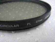 HOYA CPL 67mm Polarizing CIR-PL FILTER Lenses For canon Lens + Silicone bracelet