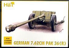 HaT Miniatures 1/72 GERMAN WWII 7.62 cm PAK 36 (R) ANTI-TANK GUN Figure Set
