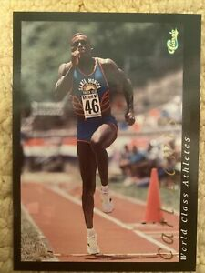1992 Classic Classic Games World Class Athletes Carl Lewis #1 Olympics NM-MT