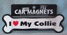 I Love My Collie Car Magnet, Dog, Souvenir, Refrigerator