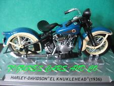1/24 MOTO HARLEY DAVIDSON EL KNUCKLEHEAD 1936