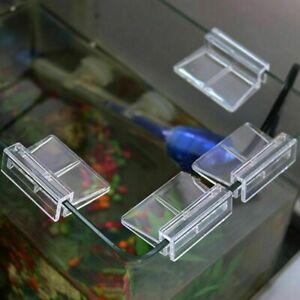 Fish Tank Holder Aquarium Clips Aquatic Pet Fish Acrylic Glass Lid Cover Parts