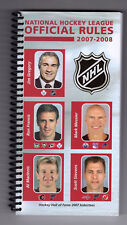 2007-08 NHL Official Rule Book