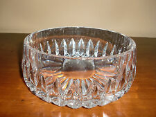 Made in Germany Heavy Lead Clear Hand Cut Crystal  Fruit Bowl Super CUTE!