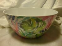 Mainstays Floral Tropical Summer Theme Serving Bowl Camping Cookout BBQ       20