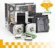 New  nema34 3axis 880oz-in dual CNC kit & driver DM860A 7.8A(Peak) 24-80VDC NEW