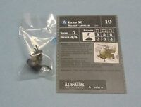 Axis & Allies Miniatures Contested Skies Quad 50 #25/45 NEW A&A