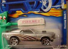 2001 Hot Wheels MUSTANG MACH 1 #112 ∞ silver ; thin orange; pr5 ∞