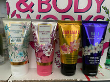 BATH & BODY WORKS BODY CREAM 2.5 OZ. SINGLES HOLIDAY AND MORE *CHOOSE SCENT* NEW