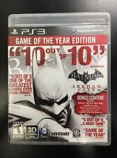 Batman: Arkham City -- Game of the Year Edition - Used PS3, PlayStation 3 Game