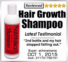NUTRIFOLICA REGROWTH SHAMPOO Hair Loss no side effects hair growth grow product