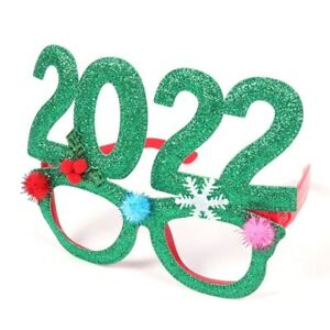 2022 New Year Party Celebration Selfie Sunglass Cosplay Photo booth Props