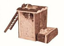 Trixie Natural Living Wooden Mice Hamster Play / Burrow Tower - 62002