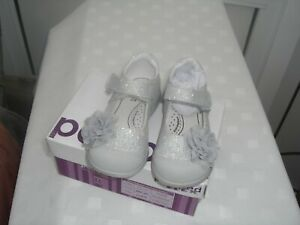 pediped Silver Great party shoe SALE PRICE £15.00 UK 7 EU 24