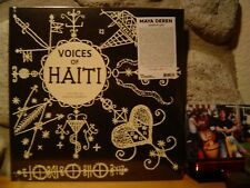 VOICES OF HAITI LP/'53/Recorded by Maya Deren/Haitian Voodoo Ritual Music/Voudon